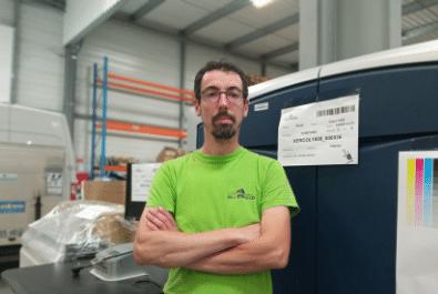 Copier technician & Matmond faces: Meet Fabrice!