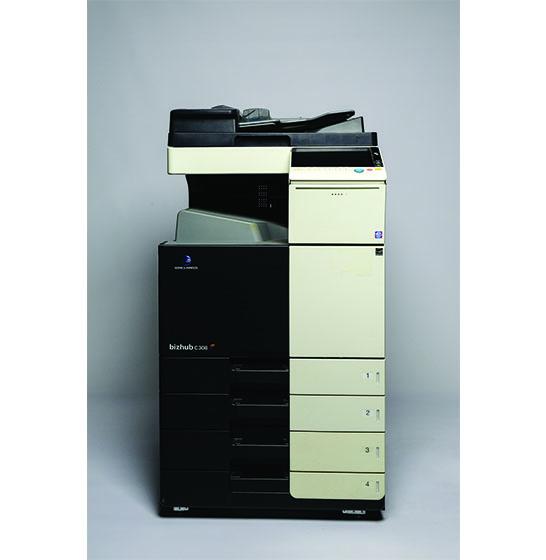 Used and reconditioned copiers sales Konica-Minolta BizHub C308