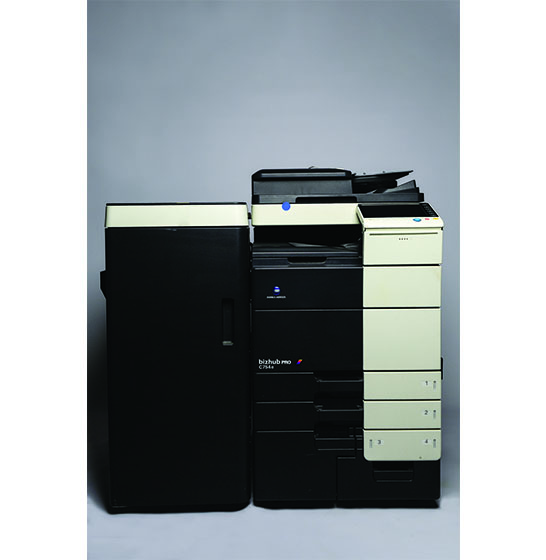 Used and reconditioned copiers sales Konica-Minolta BizHub C754