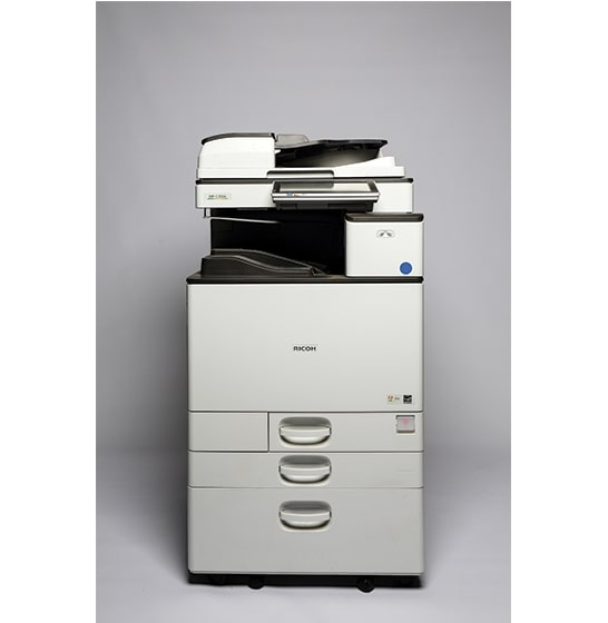 Used and reconditioned copiers sales Ricoh-MPC-3504