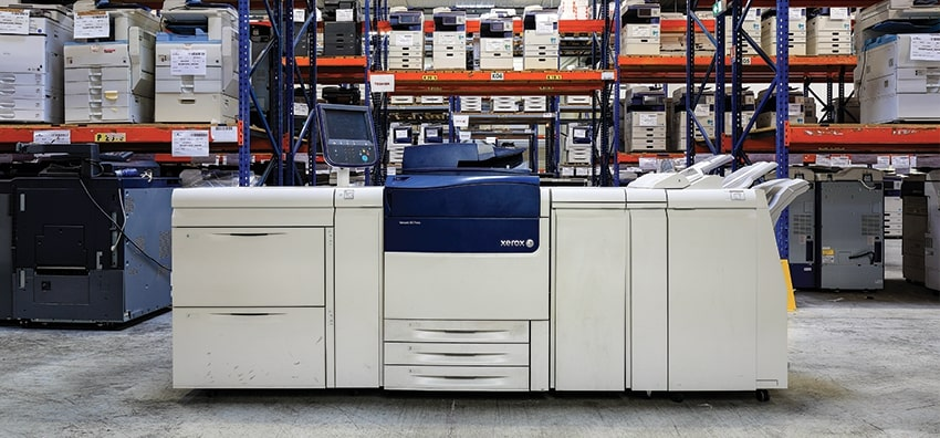 Used and reconditioned copiers sales High quality equipment